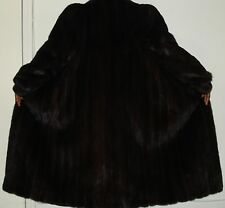 American Fur Award To Quality Ranch Mink Fur Coat Size 8-10 Free Shipping