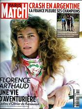PARIS MATCH N°3434 12 MARS 2015  CRASH EN ARGENTINE: ARTHAUD, MUFFAT, VASTINE