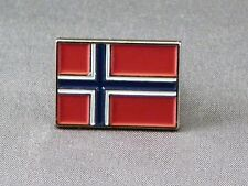 Metal Enamel Pin Badge Brooch Flag Norway Scandinavian Norwegian National Flag