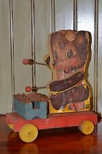 Vintage Fisher Price Teddy Zilo Pull Toy #752 vintage home decor