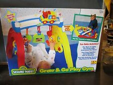 Sesame Street Grow Go Play Gym Activity Roadway Baby Infant Fisher Price fun