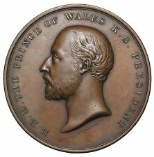 1901 Great Britain City Guilds London Institute Award Medal E.1764 By J.C. Wyon