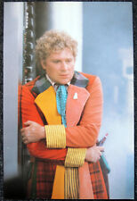 DOCTOR WHO POSTER . COLIN BAKER - ATTACK OF THE CYBERMEN
