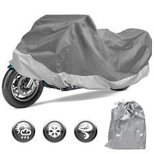 Motor Trend Motorcycle Cover Outdoor Motorbike All Weather Protection (L)