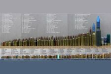 Bullet Caliber Comparison Chart Mini Poster 11Inx17In Poster