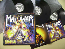 MANOWAR HELL ON STAGE LIVE 1999 NUCLEAR BLAST 3LP + BOOKLET