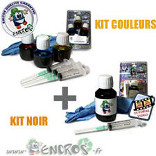 RECHARGE ENCRE- Pack kits Encre Couleur CANON PGI520/ CLI521
