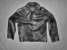 ML Michael Lawrence Women's Leather Jacket Size L