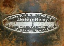 1935 CHEVY CHEVROLET STANDARD DISTRIBUTOR DELCO REMY ORIGINAL Part No 645G
