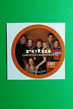 "REBA MCENTIRE LABOR DAY MARATHON CAST PHOTO SMALL 1.5"" GETGLUE GET GLUE STICKER"