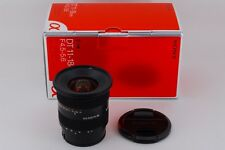 【AB Exc+】 Sony DT 11-18mm f/4.5-5.6 Wide Angle AF Lens SAL1118 w/Box JAPAN #2257
