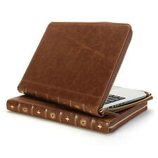 Book Case Vintage for MacBook Pro 15 inch- Brown Case Cover