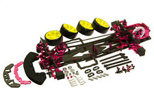 D3 CS 3R OP 1:10 RC 1/10 Drift Racing Car Frame Kit Alloy & Carbon FOR SAKURA