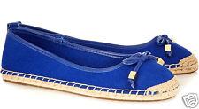 Michael Kors Ballerina/Schuhe Meg Espadrilles Flats Blue Gr.37 Neu!!