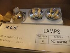 Projector bulb lamp  NCR  007-4012701 3 pack 17.7V 243  .....  15