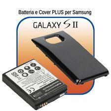 Batteria POTENZIATA - MAGGIORATA 3500mAh + COVER per Samsung GALAXY S2 SII i9100