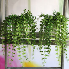 Fresh Money Leaves Fake Plant Artificial Foliage Vine Home Office Decor