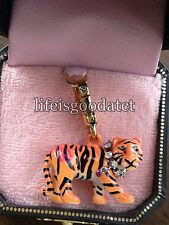 RARE & BRAND NEW! JUICY COUTURE TIGER BRACELET CHARM IN TAGGED BOX
