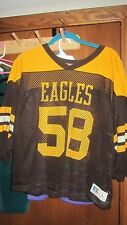 Vintage High School Football GAME Jersey- Apple Valley, MN -Size L in EXC. cond.