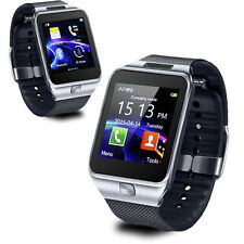Indigi® SWAP2 (Smart Watch And Phone) w/ Camera  + SMS Notifications & MP3