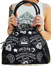 Liquorbrand Ouija Board Halloween Gothic Symbols Tattoo Vegan Bowling Bag Purse