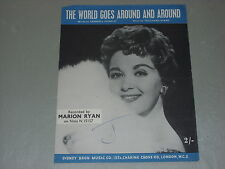 Marion Ryan: The World Goes Around And Around    Sheet Music