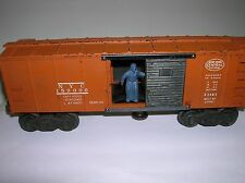 Lionel # x3464 Box Car postwar used no box , sold as is lot # 8799