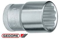 "Gedore Socket 9/16"" WHITWORTH (1/2"" Drive) bi-hexagon UD profile Vanadium Steel"
