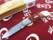 Case Xx Pocket Knife Worn Old Red Bone Lockback Folding Knives USA CA-2758
