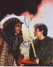 HOOK - ROBIN WILLIAMS & DUSTIN HOFFMAN AUTOGRAPH SIGNED PP PHOTO POSTER