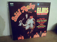"2 LP 12 "" ELVIS PRESLEY - Solid Rocks - M/MINT - NEUF - RCA - FJL2 7120 - FRANCE"