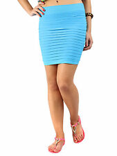 N-Gal: Women Fashion Short Skirts, Girls Mini Skirt, NG71029-Ocean Blue