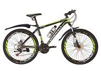 26'' Sportsman Hardtail Mountain Bikes Bicycles Shimano 21 Speeds Alloy Frame