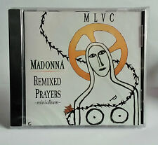 MADONNA REMIXED PRAYERS CD LIKE A PRAYER / EXPRESS YOURSELF NEW AND SEALED 1989