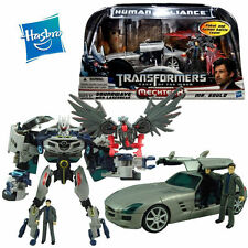 HASBRO TRANSFORMERS SOUNDWAVE LASERBEAK ROBOT MERCEDES-BENZ CAR MR.GOULD KID TOY