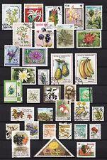 101385/ Blumen und Pflanzen - schönes Lot - o - nichts gerechnet - siehe scan