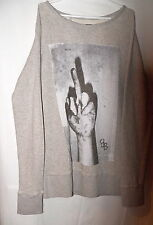 Sweate/Sudadera/Sweat - BOOM BAP - Talla L - GRIS/GREY