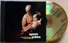 PAOLO RUSTICHELLI - CARLO BORDINI / OPERA PRIMA - CD (1990 - prima stampa RARO)