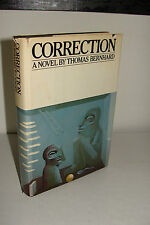 Correction by Thomas Bernhard 1st/1st 1979 Knopf Hardcover