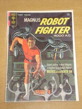 MAGNUS ROBOT FIGHTER #18 VG+ (4.5) GOLD KEY COMICS MAY 1967