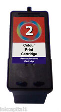 1 x No 2 Inkjet Cartridge Compatible With Lexmark X3580