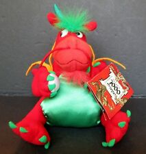 "Boston Museum of Fine Arts Land of 1000 Dragons Lucky Red Dragon 7"" Plush Doll"