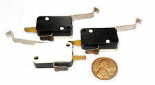 3 pcs Cherry Electric SPST Microswitch N.O. Open 0.1A 125V AC Lever Button E21 M