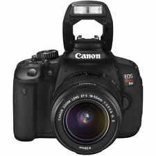 Canon EOS Rebel T4i / EOS 650D 18.0MP Digital SLR Camera - w/2xBatteries/Charger