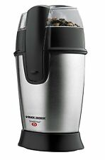 Black Decker CBG100S Smartgrind Coffee Grinder, Stainless Steel, New