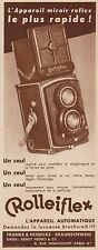 Y8424 ROLLEIFLEX l'appareil automatique - Pubblicità d'epoca - 1934 Old advert