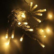 20 LED String Fairy Lights Indoor/Outdoor Xmas Christmas Party Battery Operated