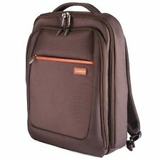 "Melvin 15.6"" Inch LAPTOP MacBook Notebook BACKPACK Tablet RUCKSACK Bag BROWN"