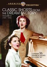 CLASSIC SHORTS FROM THE DREAM FACTORY: 2 - (full) Region Free DVD - Sealed