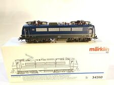 MÄRKLIN HO 34310 E-Lok BR E 410/184 DB blau Guß DELTA